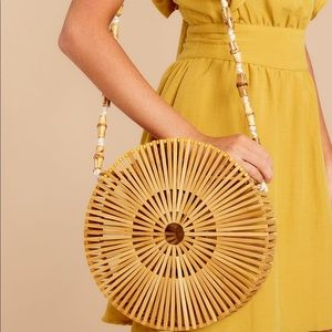 Handbags - Round Bamboo Bag